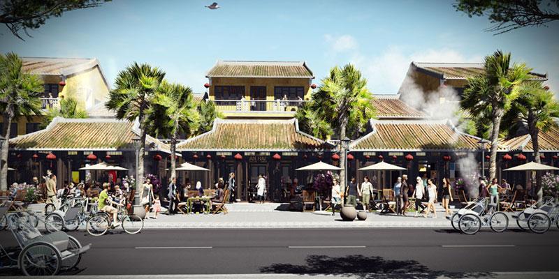 Các căn villa Hội An Town hứa hẹn sẽ là một điểm đến thu hút du khách