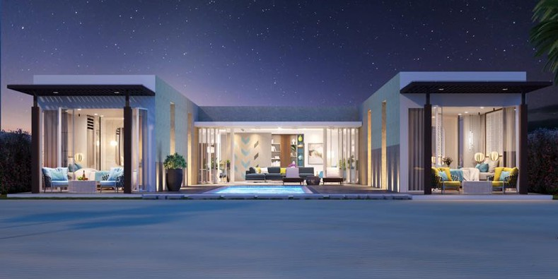 Thiết kế đẳng cấp của các căn biệt thự biển Oceanami