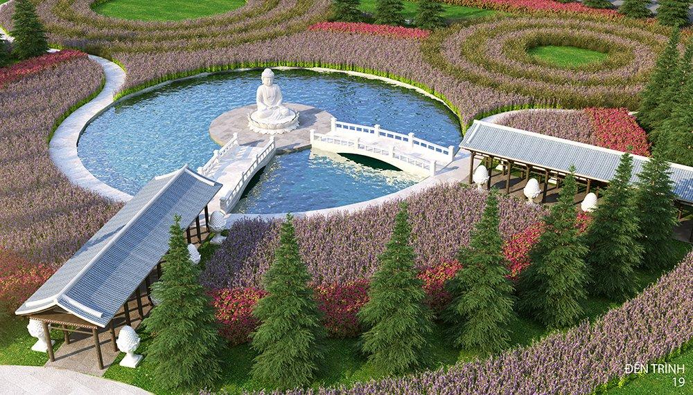 Tiện ích hiện đại cùng với cảnh quan thiên nhiên đẹp mắt tại Sala Garden