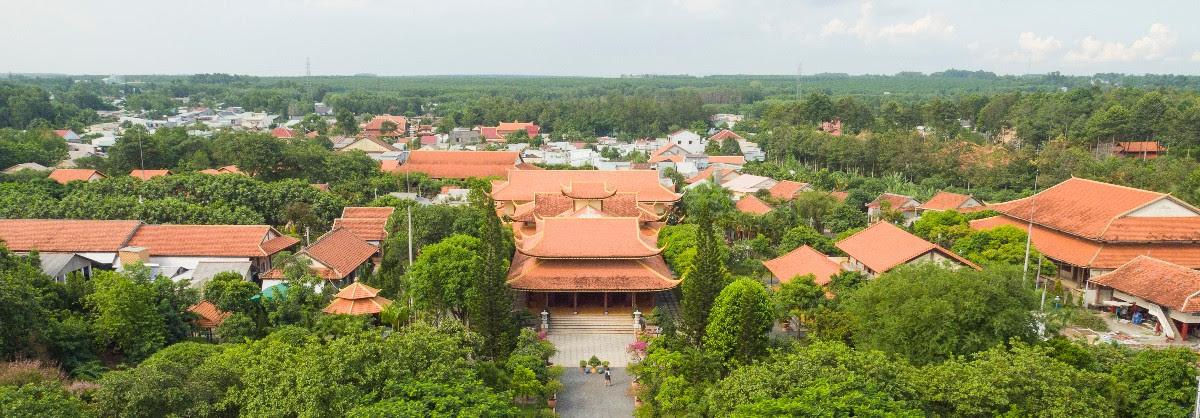 Hoa viên Sala Garden Long Thành an lạc tại miền đất Phật