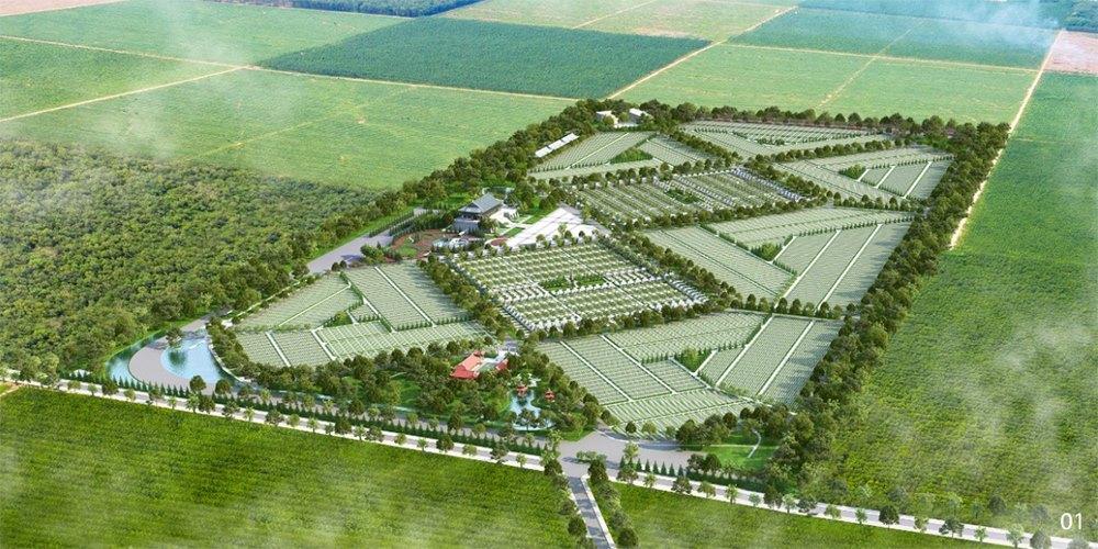 Dự án sala garden nhìn từ trên cao