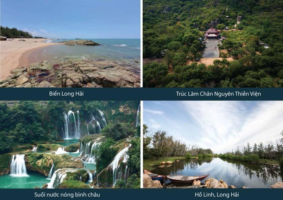 Những bãi biển tuyệt đẹp mà Osho Hồ Tràm sở hữu